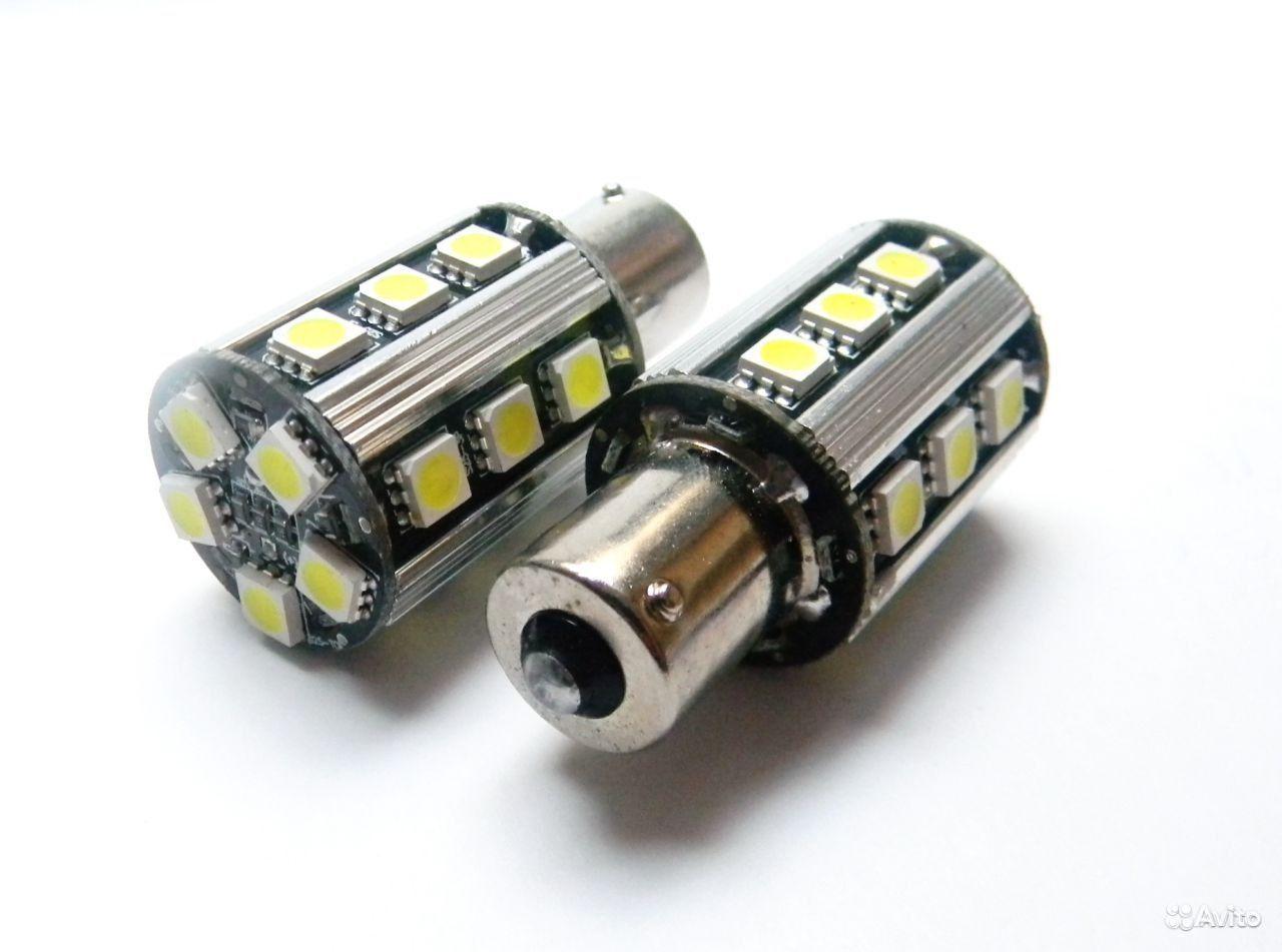 Установка светодиодов в задние фонари.