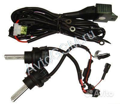 Купить Комплект из двух ламп для Биксенона Sho-Me H13 5000K (подходит.