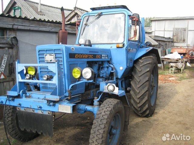 Трактор МТЗ-80 почти не выехал на маленькой подъем (с прицепом) MTZ-80 almost went on a small rise
