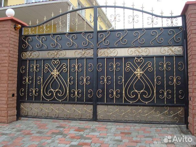 Фото ворот своими руками