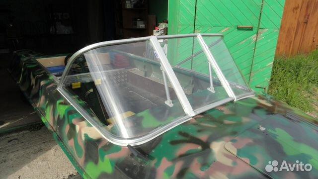 как сделать лобовое стекло на лодку видео