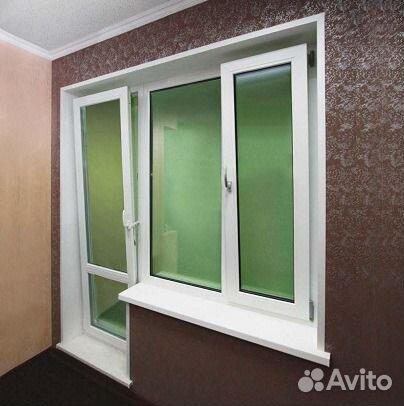 Балконный блок из профиля veka от компании абсолют пласт Чел.
