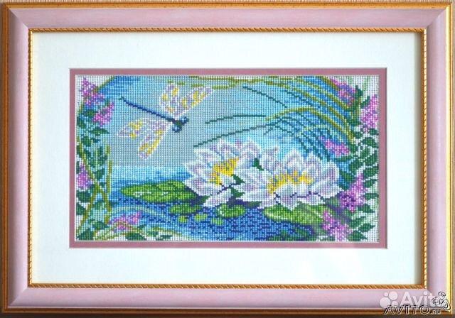 Картина м. В продаже Картина из бисера ручной работы по выгодной цене c фотографиями и описанием, продаю в Выкса...