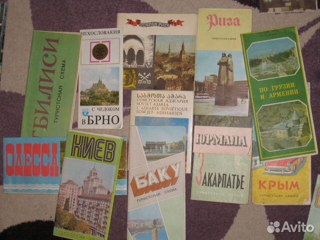 Туристические схемы и карты
