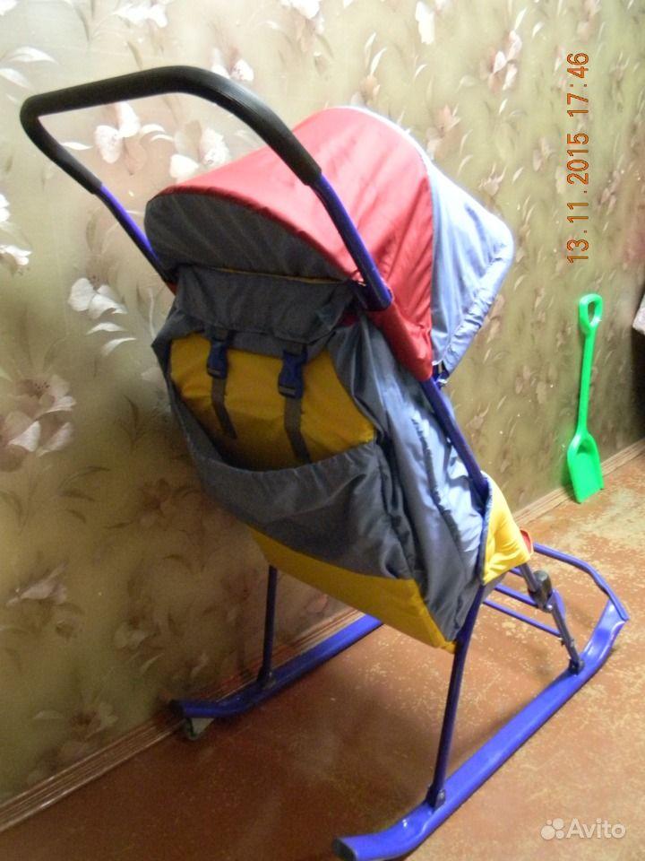 купить детские санки в москве на авито