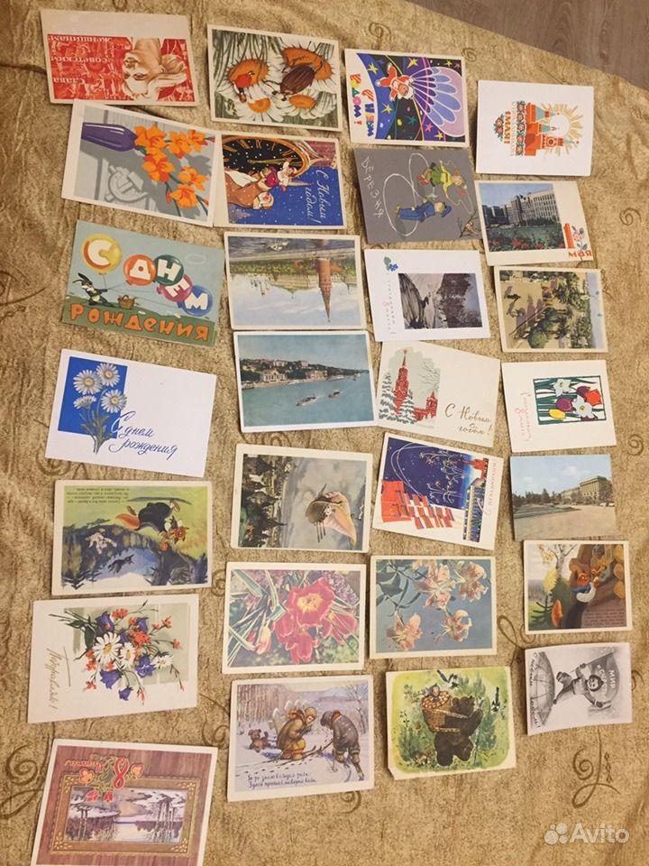 почтовые открытки коллекционер послушав отца