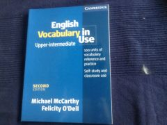 Vocabulary in Use, Oxford Grammar, словари