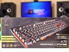 Corsair K70 Rapidfire Cherry MX Speed.Новая