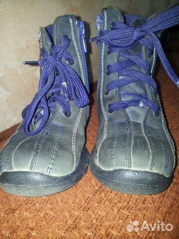 Детские ботиночки 23 размера 89147776807 купить 4