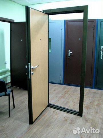 сколько стоит железная дверь в общ коридор