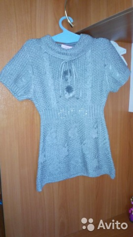 Платье-туника на 2-6 лет