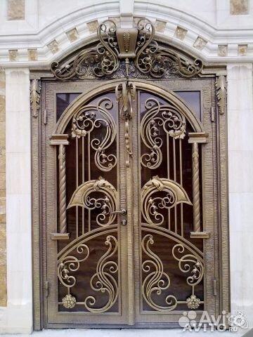 этой фото изысканых кованых дверей Песня безответной