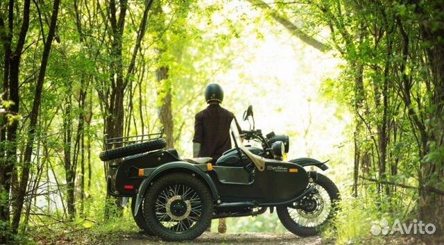 новый Мотоцикл Урал с коляской #10