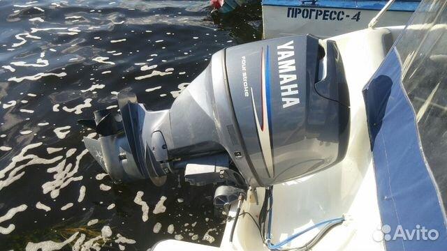 четырехтактные лодочные моторы с инжектором