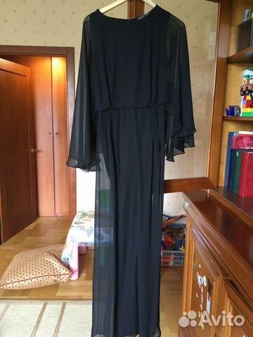 Длинное платье на авито