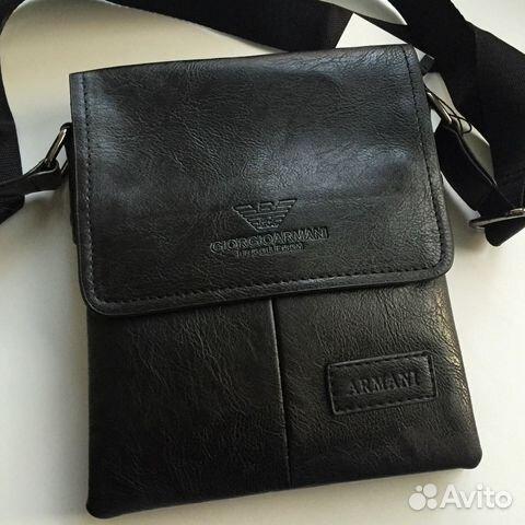 9b8394ea0165 Армани новые мужские сумки Большой Выбор— фотография №1. Адрес: Санкт- Петербург ...