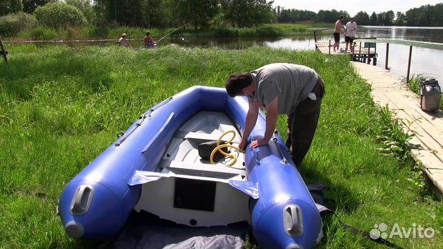 сборка лодки касатка 365 видео