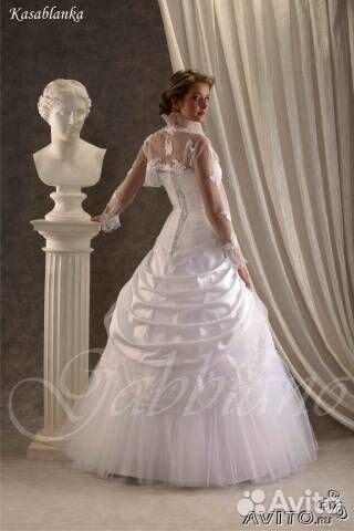Купить свадебное платье в спб на авито