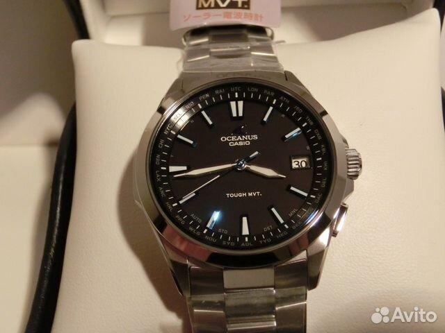 Часы Casio Oceanus - tick-tockru