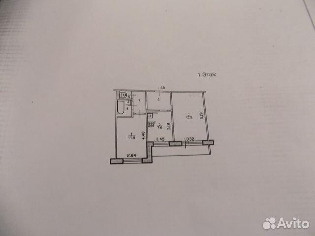 2-к квартира, 48.1 м², 1/9 эт.— фотография №1