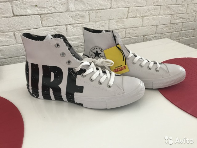 bffd49574bff Converse CT HI ALL-star x SEX pistols collection