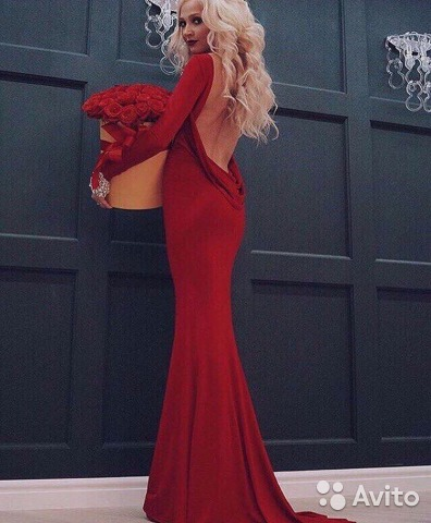 df4b3e0d44757b5 Вечернее платье красное (прокат, аренда) купить в Санкт-Петербурге ...