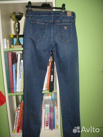 8f80d14b233 Женские джинсы guess летние синие стрейч купить в Москве на Avito ...