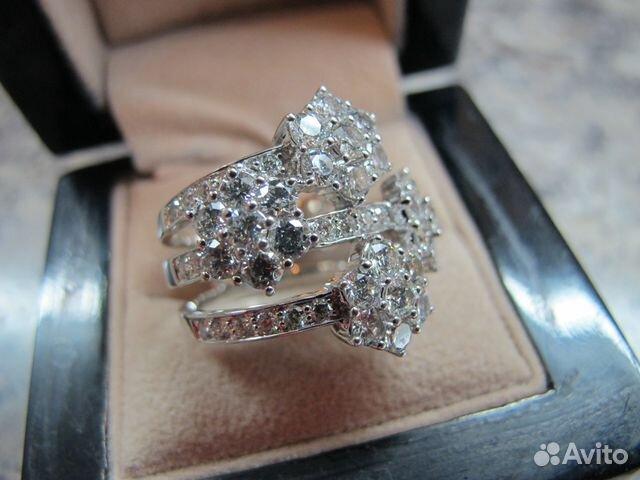 Кольцо с бриллиантами 3,10 карата   Festima.Ru - Мониторинг объявлений c35c3f57edd