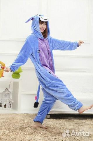 8ead76d7db12a Кигуруми Ослик, пижама, костюм, комбинезон   Festima.Ru - Мониторинг ...