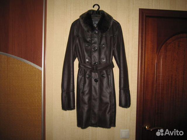 39ba200ee643 Armani Jeans новая кожаная куртка оригинал с бирка   Festima.Ru ...