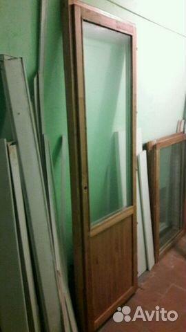 Дверь балконная со стеклопакетом купить в москве на avito - .