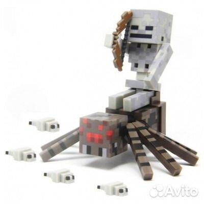 26f8e42ed677b Набор Паук и Скелет MInecraft (Майнкрафт) | Festima.Ru - Мониторинг ...