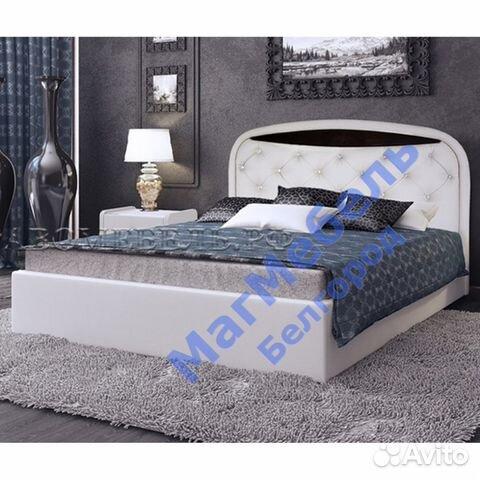 кровать двуспальная валенсия 1 экокожа 16 м купить в белгородской