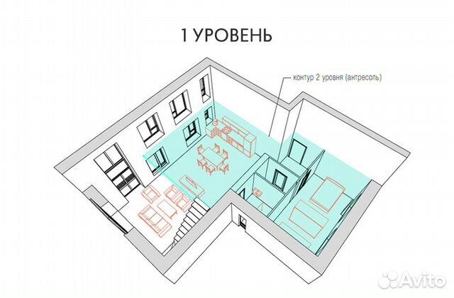 4-к квартира, 144.7 м², 3/3 эт. 89962194213 купить 5