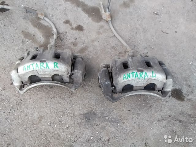 Opel Antara суппорт передний 89880984407 купить 1
