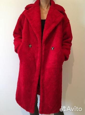 Шуба пальто Teddy Bear Max Mara новая купить в Москве на Avito ... 022a6da7c85c7
