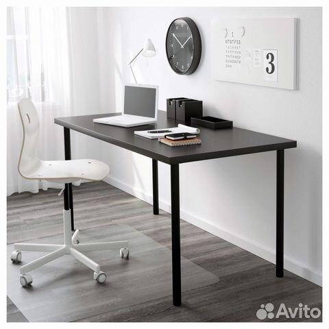 стол письменный Ikea линнмон адильс 150х75 Festimaru