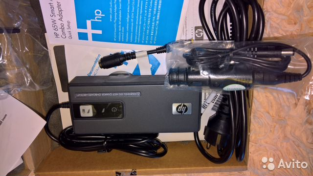HP Smart AC Auto Air Combo Adapter