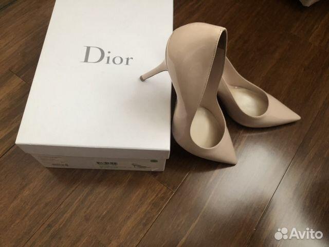 4ca5b070b Туфли Dior (41) купить в Москве на Avito — Объявления на сайте Авито