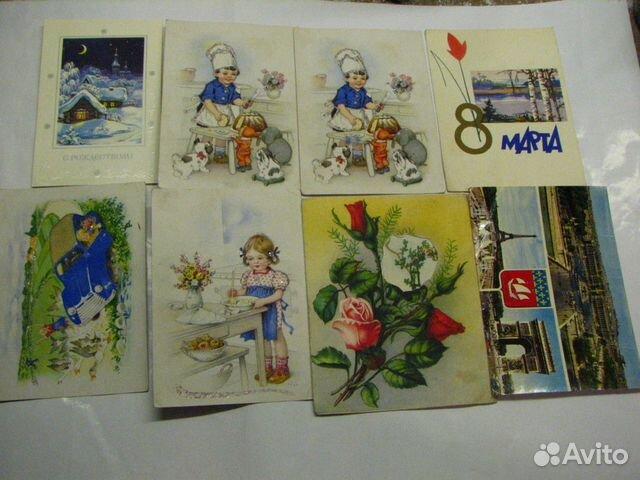 Продать советские открытки спб, для орифлейм магазина