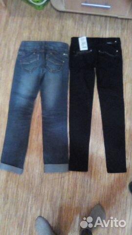 c604e41186b Продаются джинсы и чёрные новые брючки купить в Кировской области на ...