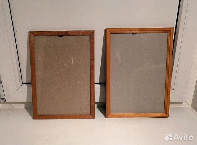 деревянная рамка а4 2шт купить в москве на Avito объявления на