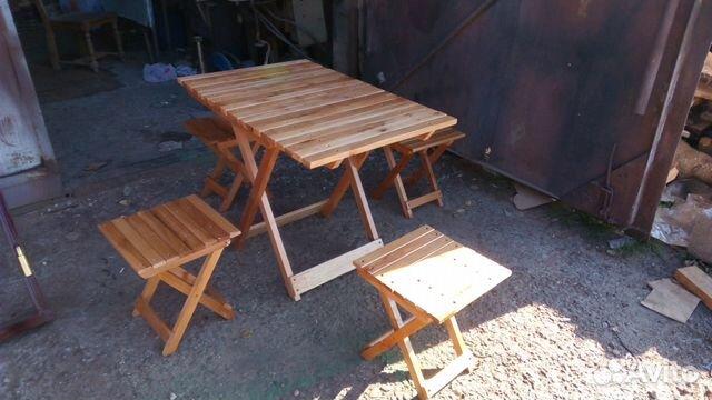 Набор раскладних стулев и стола 89182436629 купить 2