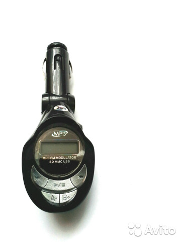 Трансмиттер модулятор mp3 FM. CD/MMC/USB 89185155164 купить 3