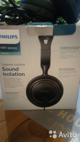 Наушники philips SHP-2000 89092587832 купить 3