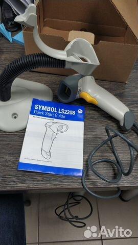 Сканер штрих-кода Symbol LS2208-SR20001R