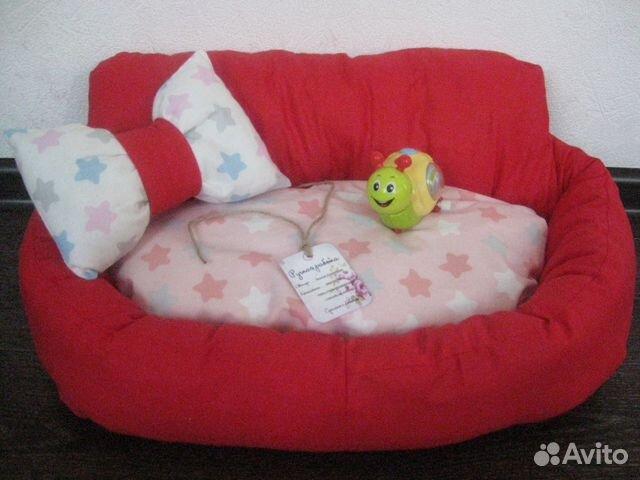 Лежанка для кота или маленькой собачки 89649934066 купить 1