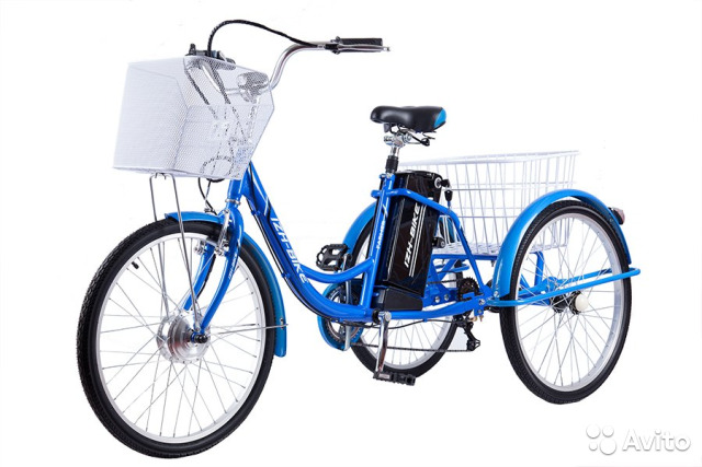 ecbff04abd1 Велосипед Электро Farmer IB-3WE 24