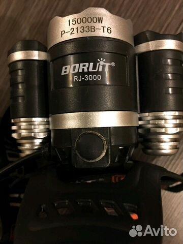 Налобный фонарь Boruit купить 6