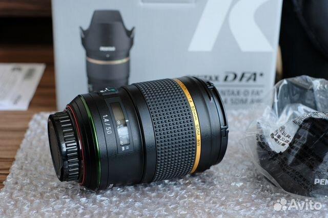Pentax D FA 50 1.4 SDM AW HD новый, обмен купить 1